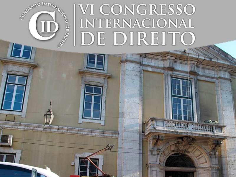 VI Congresso Internacional de Direito, em Lisboa (Portugal)