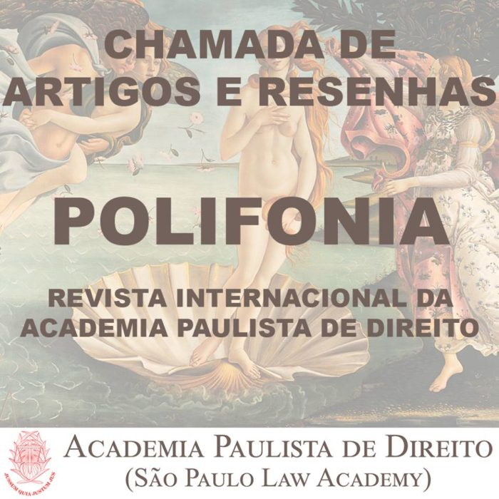 Chamada de Artigos Call for Papers Revista POLIFONIA