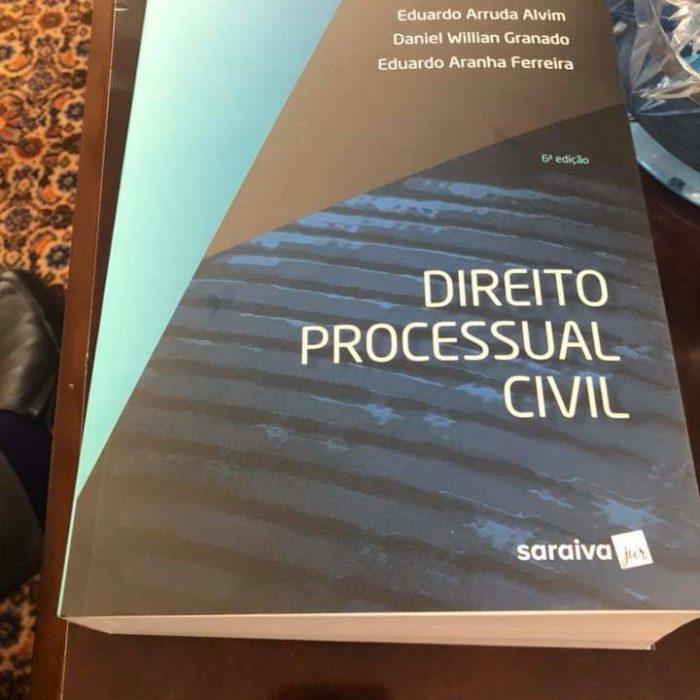 Eduardo Alvim e Daniel Granado lançam livro de Processo Civil
