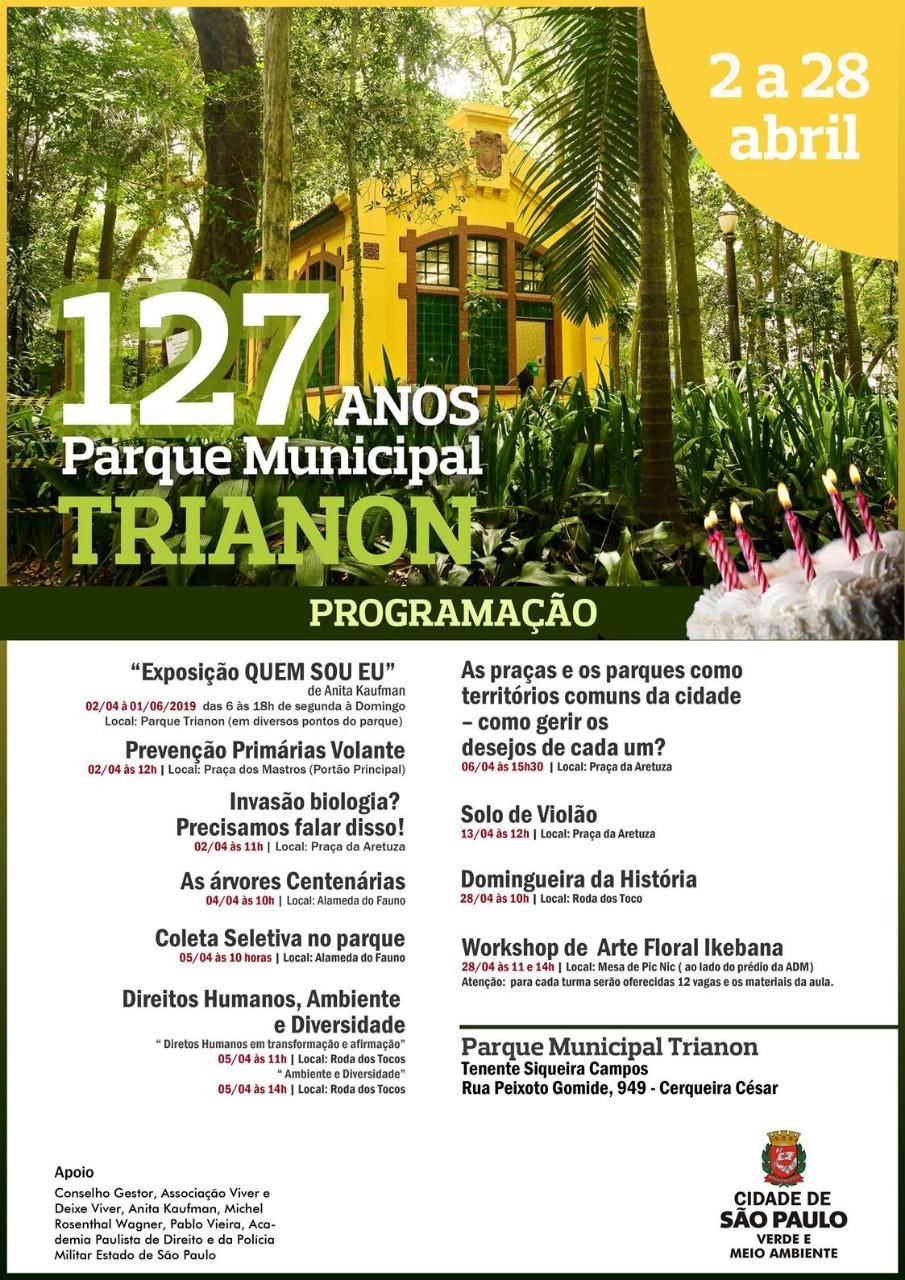 A Academia e os 127 anos do Parque Trianon