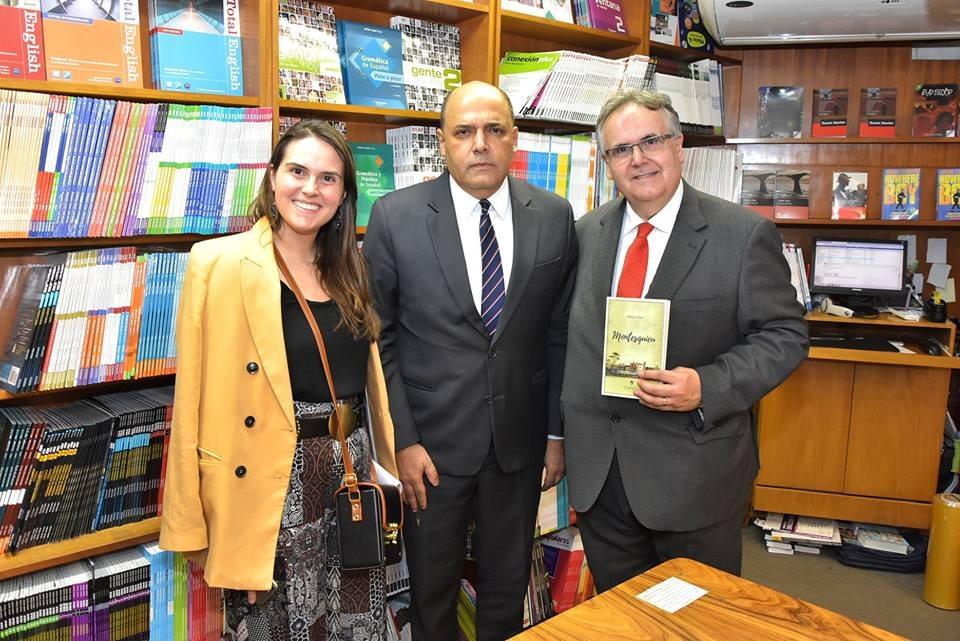 Comunidade de Juristas de Língua Portuguesa noticia o lançamento do livro do Presidente da Academia Paulista de Direito