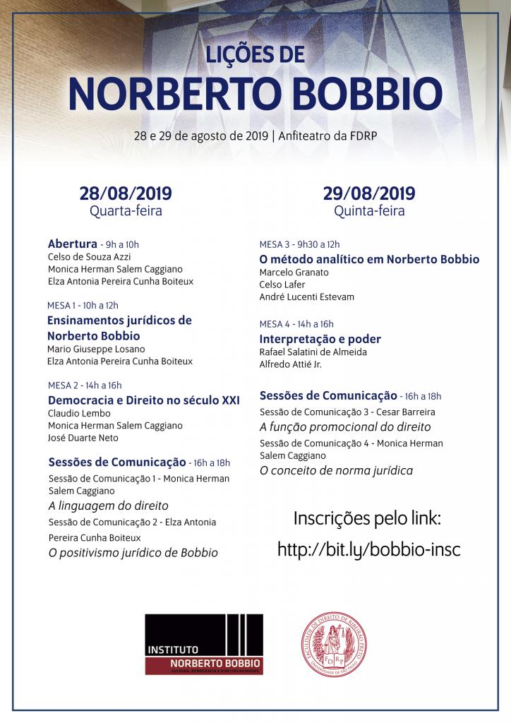 Lições de Norberto Bobbio