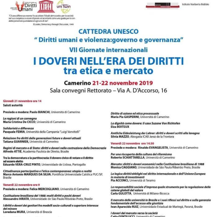 Academia na Italia, em Camerino