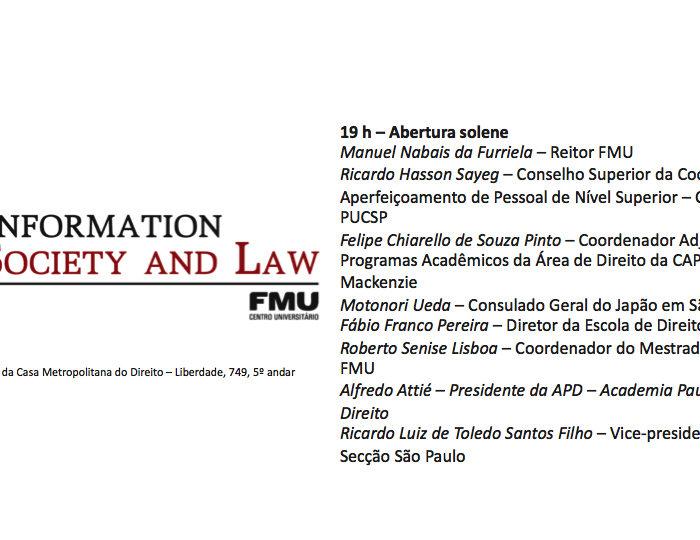 Congresso Sobre Sociedade de Informação e Direito
