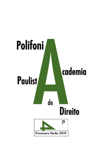 Vem aí o número 4 de POLIFONIA Revista Internacional da Academia Paulista de Direito