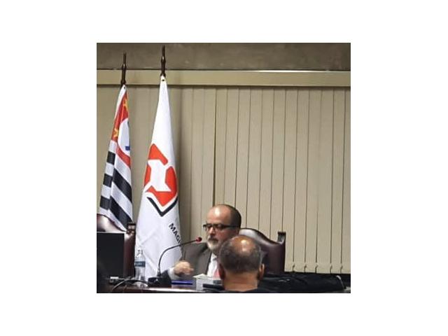 Acadêmico Titular da Academia Paulista de Direito fala na Escola da Magistratura