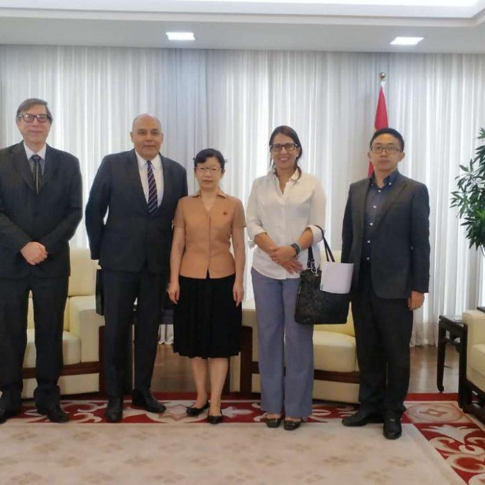 Alfredo Attié  recebido no Consulado Geral da China