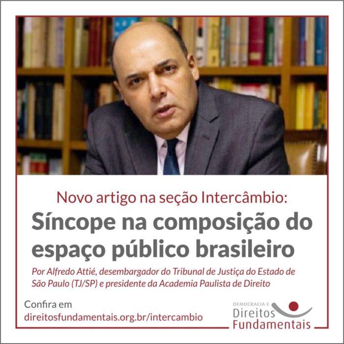 Impasse Brasileiro em importante Ensaio de Alfredo Attié