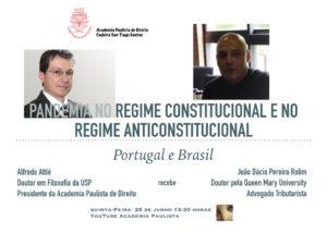 Pandemia nos Estados Constitucional e Anticonstitucional