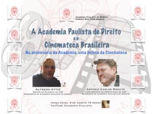A Academia Paulista de Direito e a Defesa da Cinemateca