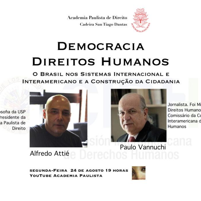 Direitos Humanos em Conversa de Alfredo Attié com Paulo Vannuchi