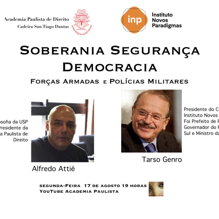 Soberania Segurança Democracia
