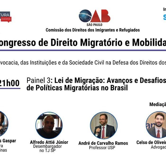 Academia Paulista de Direito participa de Evento da OAB/SP sobre Direito de Migrantes e Refugiados