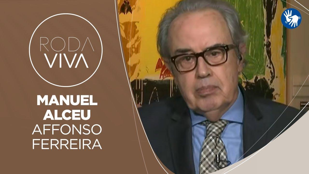 Manuel Alceu Affonso Ferreira no Roda Viva, em defesa da imprensa